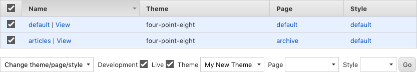 Themes assign sections context